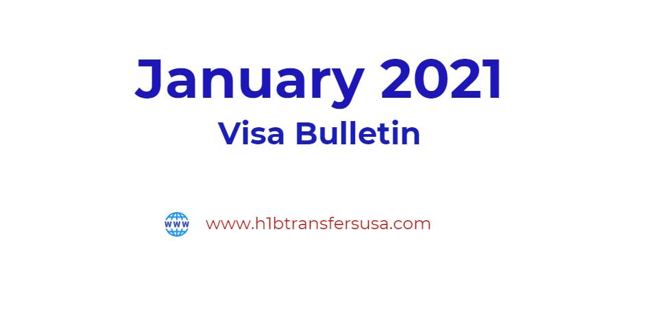 January 2021 Visa Bulletin