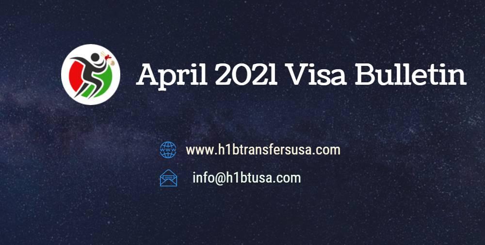 April 2021 Visa Bulletin